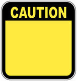 varningstecken Royaltyfria Foton