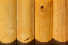 The varnished boards. The wood texture. The background. Stock Photography