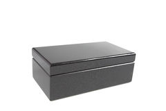 The varnished decorative casket Royalty Free Stock Photo