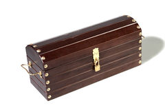The varnished decorative casket Royalty Free Stock Images