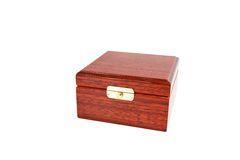 The varnished decorative casket isolated Stock Image