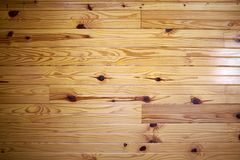 Varnished hardwood floor with distinctive grain royalty free stock images
