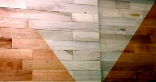 Varnished parquet difference Royalty Free Stock Images