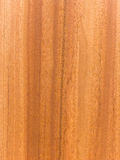 Varnished red wood board royalty free stock images