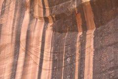 Varnished Sandstone in the Utah Desert Royalty Free Stock Photo