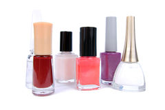 Varnishes for nails. Royalty Free Stock Images