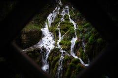 Varone waterfall Italy Riva del Garda. Varone waterfall is one of the main attractions of Riva del Garda royalty free stock photo