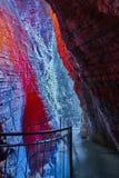 Varone Waterfall Lake Garda Stock Photography