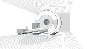 Varredor de MRI Fotografia de Stock Royalty Free