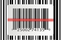 Varredor do código de barras Fotos de Stock
