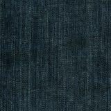 Textura da tela da sarja de Nimes - azul imperial Fotos de Stock Royalty Free
