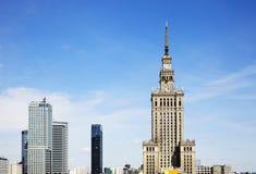 Varsóvia da baixa poland imagem de stock