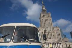Varsóvia está mudando Imagem de Stock