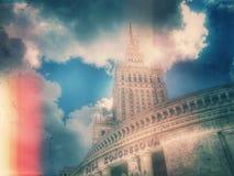 Varsóvia HDR fotos de stock royalty free
