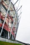 VARSÓVIA, POLÔNIA - 3 de setembro de 2013: O estádio nacional, construção Fotos de Stock Royalty Free