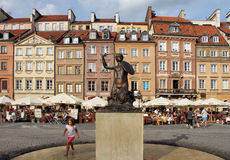Varsóvia (Varsóvia) - Polônia Fotografia de Stock Royalty Free