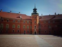 Varsavia Città Vecchia, castello reale fotografia stock