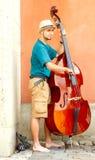 varsavia Musicisti della via Fotografia Stock Libera da Diritti