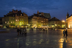 Varsavia - Polland Immagini Stock Libere da Diritti