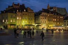 Varsavia - Polland Fotografie Stock