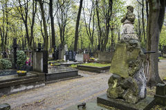 Varsavia - Polland Fotografia Stock Libera da Diritti