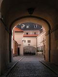 Varsavia - vecchia città - Gateway Fotografia Stock Libera da Diritti
