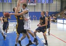 Varsity High School Basketball Stock Images