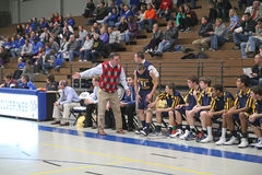 Varsity High School Basketball Stock Photography