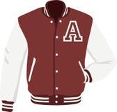 Varsity Jacket Royalty Free Stock Image