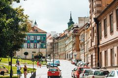 Varsovia Imagenes de archivo