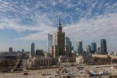 Varsovia central Foto de archivo