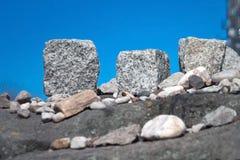 Varsovia judía - piedras fúnebres Fotos de archivo