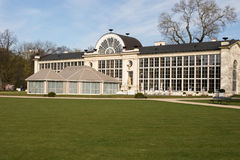 varsovia Parque real de Lazienki Naranjal viejo y nuevo Fotos de archivo libres de regalías