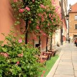 Varsovia retra Imágenes de archivo libres de regalías