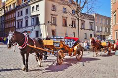 Varsovia, Stolica Polski Foto de archivo