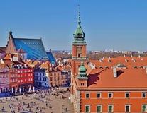 Varsovia, Stolica Polski Imagen de archivo libre de regalías