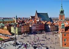 Varsovia, Stolica Polski Fotografía de archivo libre de regalías