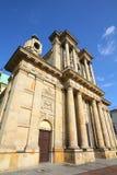 Varsovie - église carmélite photos stock