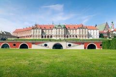 Varsovie - château royal Image libre de droits