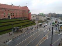 varsovie Le Roi Palace photos libres de droits