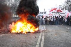 Émeute Images stock
