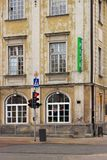 VARSOVIE, POLOGNE - 12 MAI 2012 : Vue des bâtiments historiques dans la vieille partie de capital de Varsovie et la plus grande v photographie stock