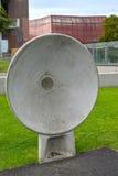 Varsovie, Pologne Une fin acoustique de plat en parc des ouvreurs Centre de la Science de Copernic photos libres de droits