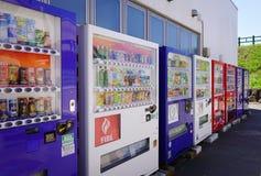 Varuautomater i Akita, Japan Fotografering för Bildbyråer