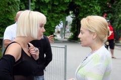 varum valeriya поп-звезд angelika Стоковая Фотография RF