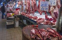Varvakeios市场在雅典市,希腊的中心 图库摄影