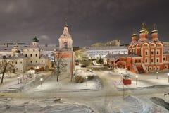 Varvarka-Straße in Moskau Stockfotografie