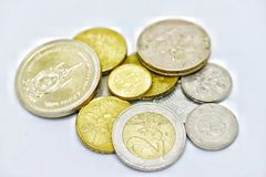 Money. Vary currency coin Stock Photography