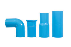 Vary type of PVC joint Stock Images
