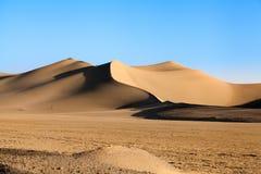 Varzanehwoestijn, de provincie van Isphahan, Iran Stock Foto's